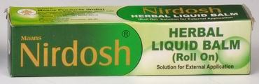 Nirdosh Herbal Liquid Balm (Roll On)