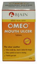 Omeo Mouth Ulcer Tablets (25 grams)