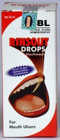 Rinsout Drops (Mouthwash) (30 ml)