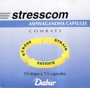 Stresscom (100 Tablets), Dabur, Dabur, HERBAL MEDICINES, Madanapalas