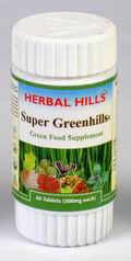 Super Greenhills (Green Food Supplement) 60 Tablets