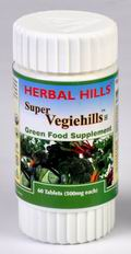 Super Vegiehills (Green Food Supplement) 60 Tablets