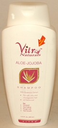 Vitro Naturals Aloe - Jojoba Shampoo with Rosemary extract (200 ml)